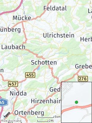 Here Map of Schotten