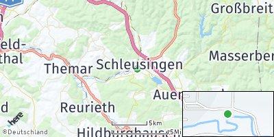 Google Map of Schleusingen