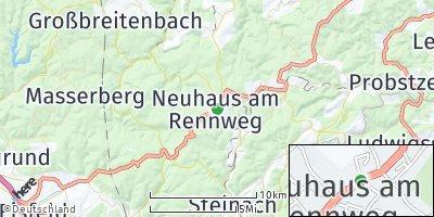 Google Map of Neuhaus am Rennweg