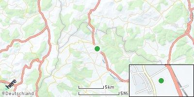 Google Map of Fladungen