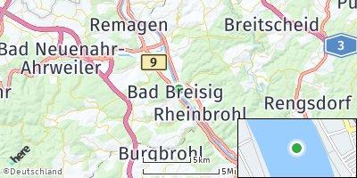 Google Map of Bad Breisig