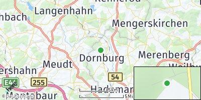 Google Map of Dornburg