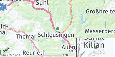 Google Map of Sankt Kilian