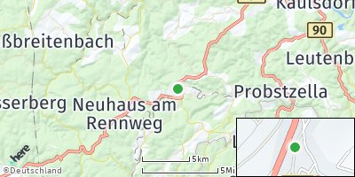 Google Map of Schmiedefeld