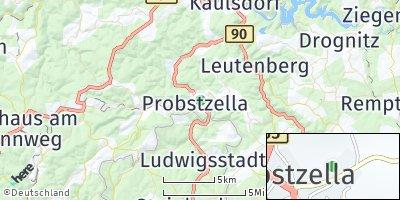 Google Map of Probstzella