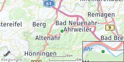 Google Map of Dernau