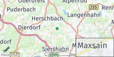 Google Map of Maxsain