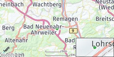 Google Map of Lohrsdorf