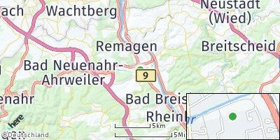 Google Map of Sinzig