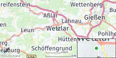Google Map of Wetzlar