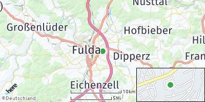 Google Map of Künzell