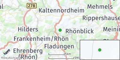 Google Map of Erbenhausen bei Meiningen