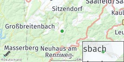 Google Map of Deesbach