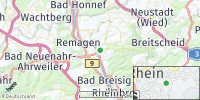 Google Map of Linz am Rhein