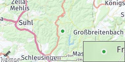 Google Map of Frauenwald