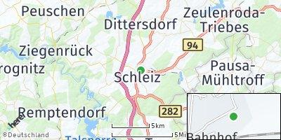 Google Map of Schleiz