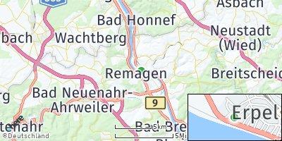 Google Map of Erpel