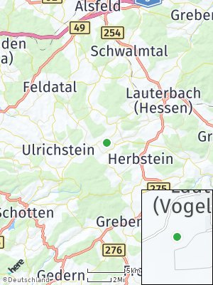 Here Map of Lautertal