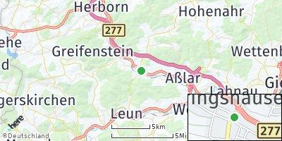 Google Map of Ehringshausen