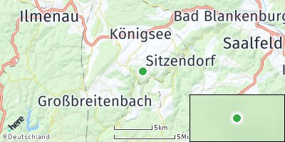 Google Map of Mellenbach-Glasbach