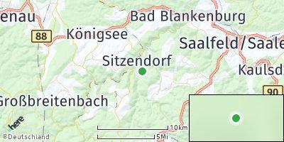 Google Map of Unterweißbach