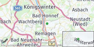 Google Map of Rheinbreitbach