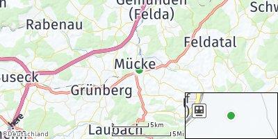Google Map of Mücke