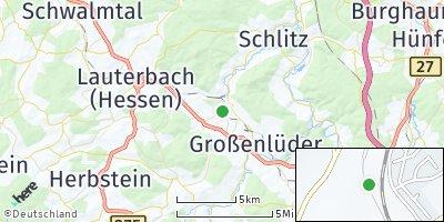 Google Map of Bad Salzschlirf