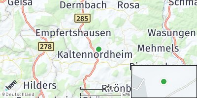 Google Map of Kaltennordheim