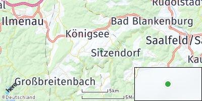 Google Map of Sitzendorf