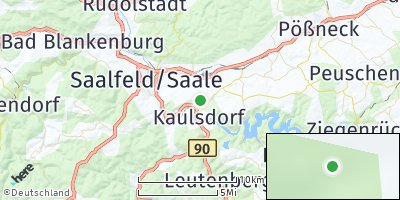 Google Map of Kaulsdorf