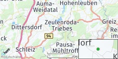 Google Map of Langenwolschendorf