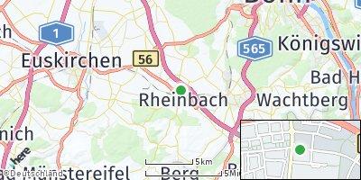 Google Map of Rheinbach