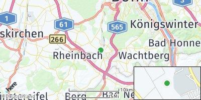 Google Map of Meckenheim