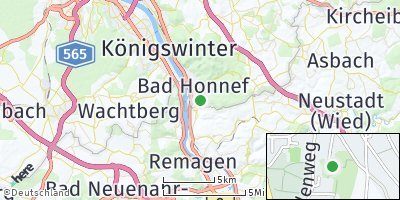 Google Map of Bad Honnef