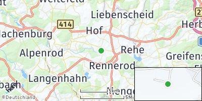 Google Map of Neustadt / Westerwald