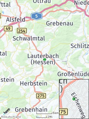 Here Map of Lauterbach