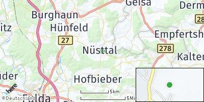 Google Map of Nüsttal