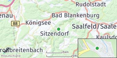 Google Map of Schwarzburg