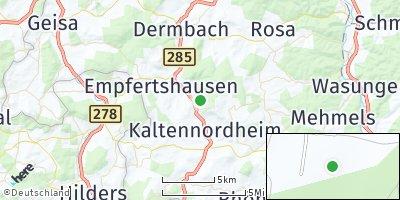 Google Map of Fischbach / Rhön