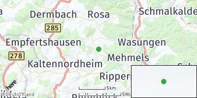 Google Map of Oepfershausen