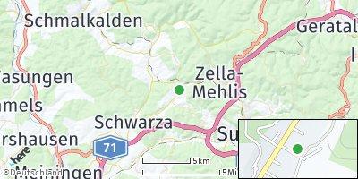 Google Map of Benshausen
