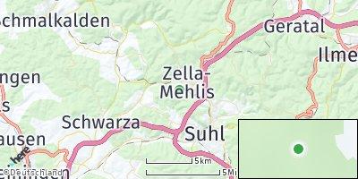 Google Map of Zella-Mehlis