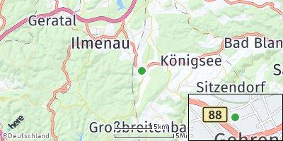 Google Map of Gehren