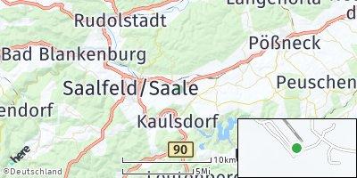 Google Map of Unterwellenborn