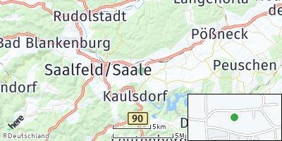 Google Map of Kamsdorf
