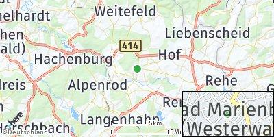 Google Map of Bad Marienberg