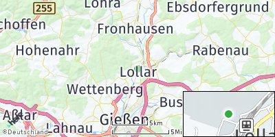 Google Map of Lollar