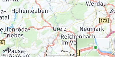 Google Map of Greiz