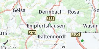 Google Map of Zella / Rhön